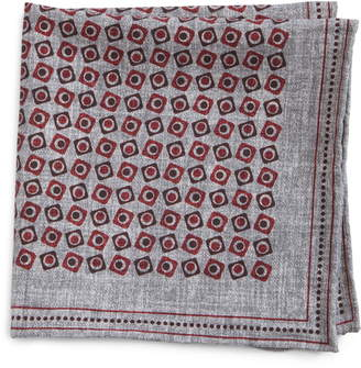 Brunello Cucinelli Squares Silk Pocket Square