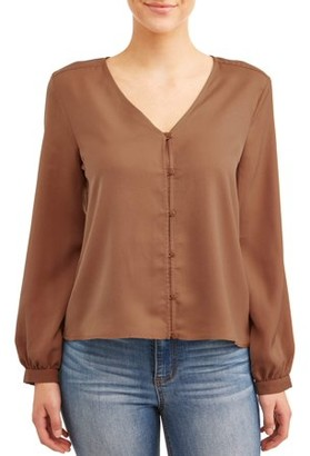 Love Sadie Women's Button Blouse