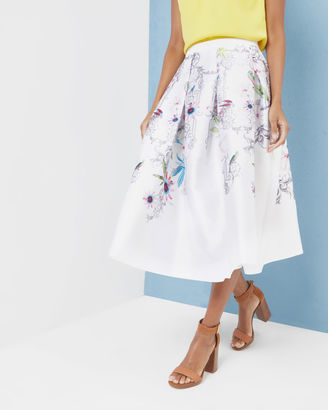 Passion Flower full skirt $295 thestylecure.com