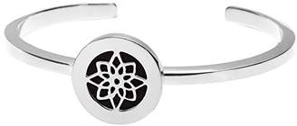 The Branch Lotus Metal Silver Cuff of 6-7.5cm