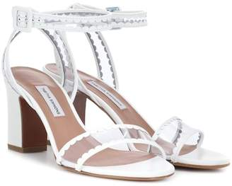 Tabitha Simmons Leticia Frill leather sandals