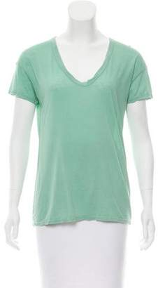 James Perse Short Sleeve Scoop Neck Top