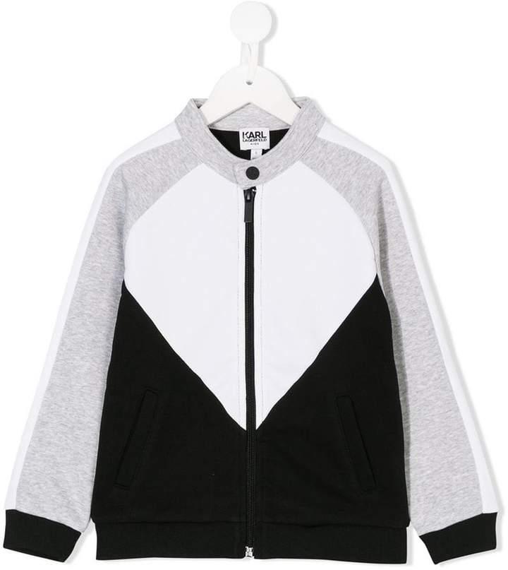 printed back bomber jacket