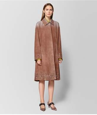 Bottega Veneta Dahlia Suede Coat