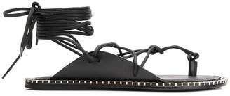 Ann Demeulemeester string sandals
