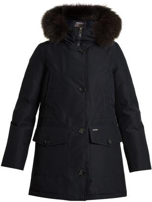 WOOLRICH JOHN RICH & BROS. Gtx fur-trimmed down parka $1,033 thestylecure.com