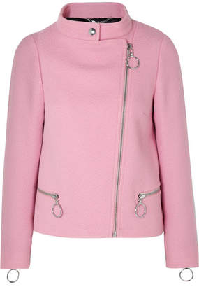 Moschino Wool-blend Jacket - Pink