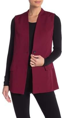 Boulevard V-Neck Front Pocket Vest