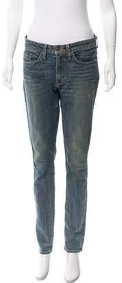 6397 Mid-Rise Straight-Leg Jeans