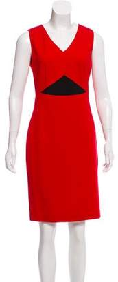 Magaschoni Sleeveless Knee-Length Dress w/ Tags