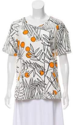 Paul Smith Printed Short-Sleeve Top