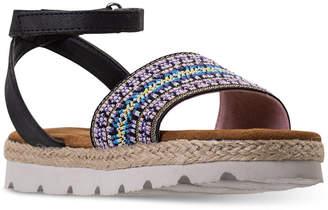 BearPaw Little Girls' Kahala Ankle Strap Sandals from Finish Line