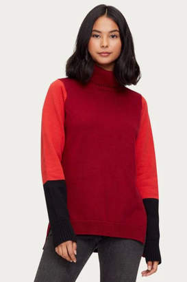 Michael Stars Noel Colorblock Turtleneck