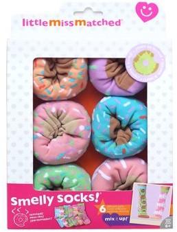 LittleMissMatched Little MissMatched Smelly Sock Donut 6 Pack