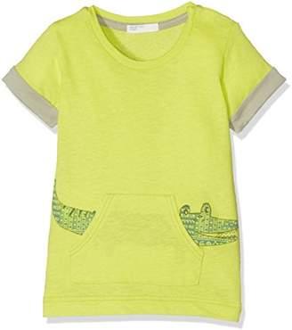 Benetton Baby Boys 0-24m T-Shirt, (Lime Green), (Size:62)