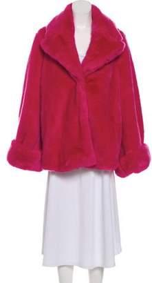 Vivetta Faux Fur Short Coat