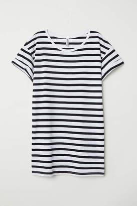 H&M Long T-shirt - White - Women