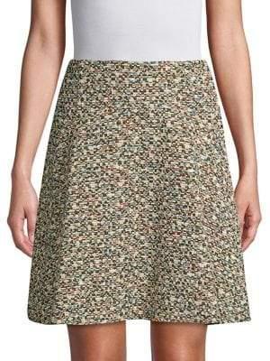 Akris Punto Multicolored Graphic Skirt