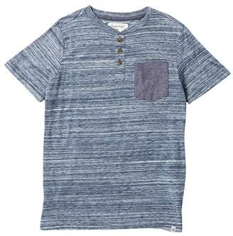 Sovereign Code Matias Short Sleeve Henley (Big Boys)