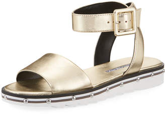 Charles David Shimmy Sport-Bottom Sandal