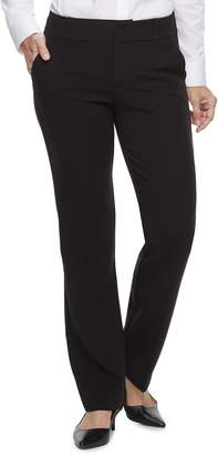 Croft & Barrow Women's Polished Straight-Leg Pants