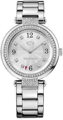 Juicy Couture Women's Sienna Crystal Bracelet Watch $195 thestylecure.com