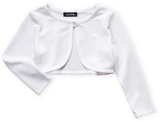 daefc19d9 Zunie Toddler Girls) White Cardigan Sweater