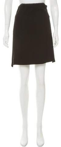 Celine Structured A-Line Skirt w/ Tags