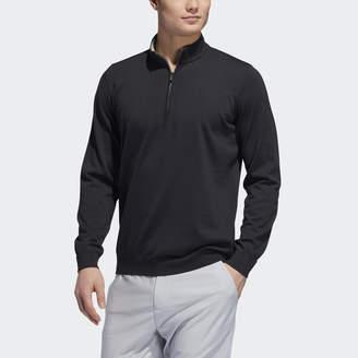 adidas Adipure Refined 1/4-Zip Sweater