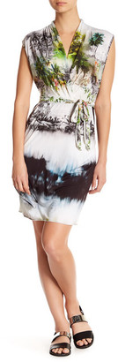 Letarte Surplice V-Neck Print Cover Up $238 thestylecure.com
