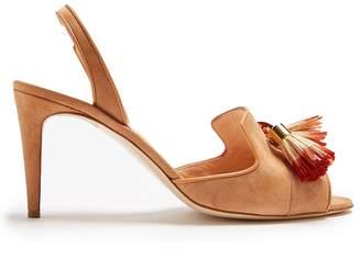 Rupert Sanderson Magda tassel suede sandals