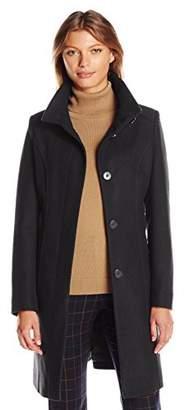 Kenneth Cole Women's Walker Wool Coat $134.99 thestylecure.com
