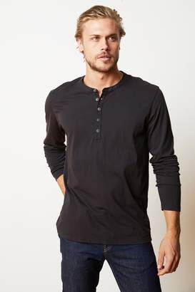 Velvet by Graham & Spencer ALVARO COTTON JERSEY HENLEY