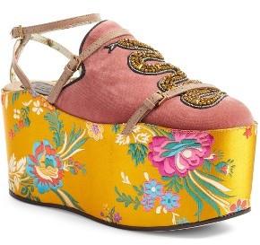 Women's Gucci Hannelore Platform Loafer $1,890 thestylecure.com