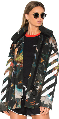 OFF-WHITE Birds M65 Jacket $1,811 thestylecure.com