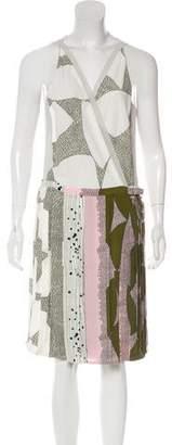 Diane von Furstenberg Jenna Sleeveless Wrap Dress