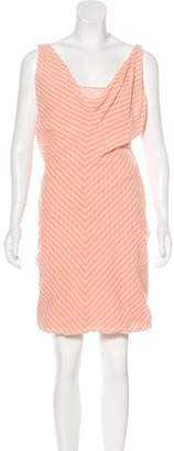 Hussein Chalayan Patterned Midi Dress