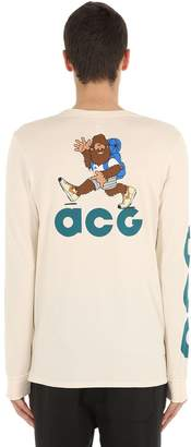 Nike Acg Long Sleeve Cotton T-Shirt