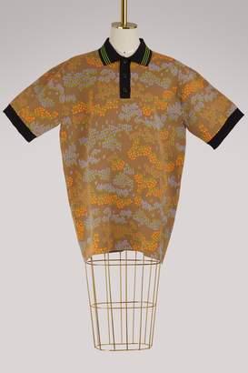 Celine Floral polo sweater