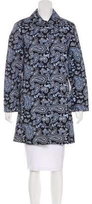 MICHAEL Michael Kors Paisley Knee-Length Coat