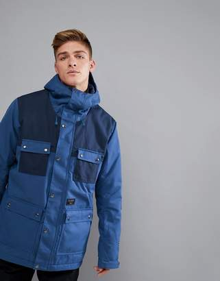 Billabong Working Snow Jacket in Dark Blue