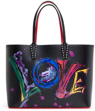 Christian Louboutin Cabata love print tote bag