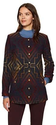 Pendleton Women's Sunrise Wool Jacquard Snap Jacket