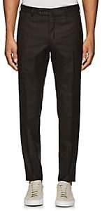 Incotex Men's S-Body Slim Wool Trousers - Brown