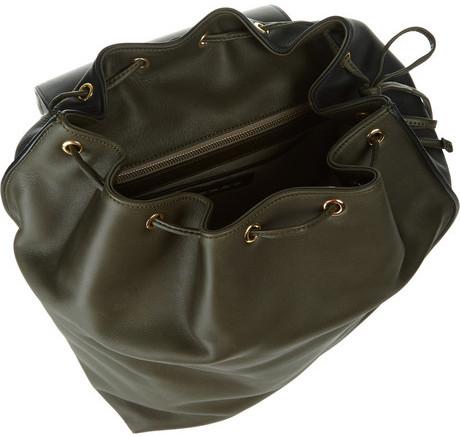 Marni Two-tone leather shoulder bag