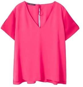 Violeta BY MANGO Flowy blouse