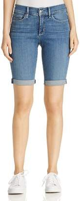 NYDJ Briella Roll Cuff Bermuda Shorts in Heyburn Wash