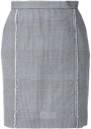 Ps By Paul Smith Pepita skirt $395 thestylecure.com