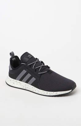 c6f10765b adidas X PLR Knit Black   Gray Shoes