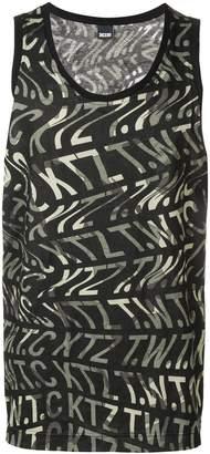 Kokon To Zai Camo vest with ripple